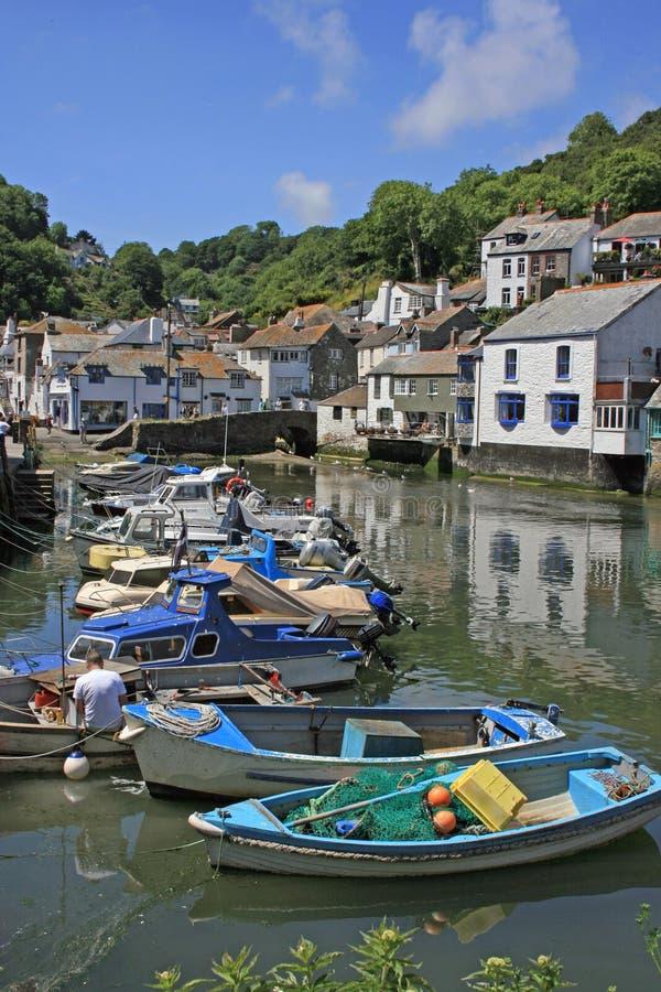 fiskehamn royaltyfria foton