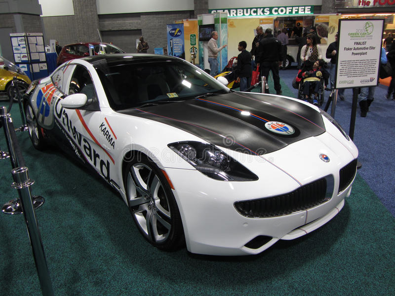 Download Fisker Karma Sports Car Editorial Stock Image Image Of Automobile