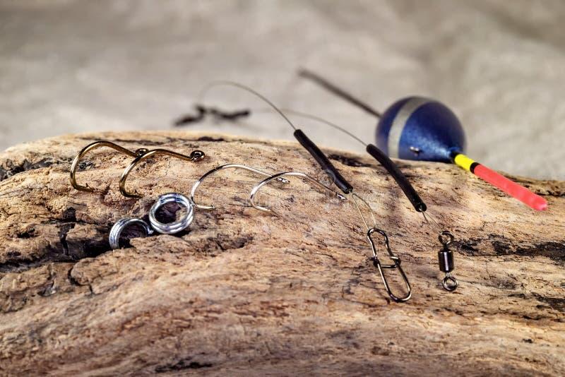 Fisketillbehör fotografering för bildbyråer