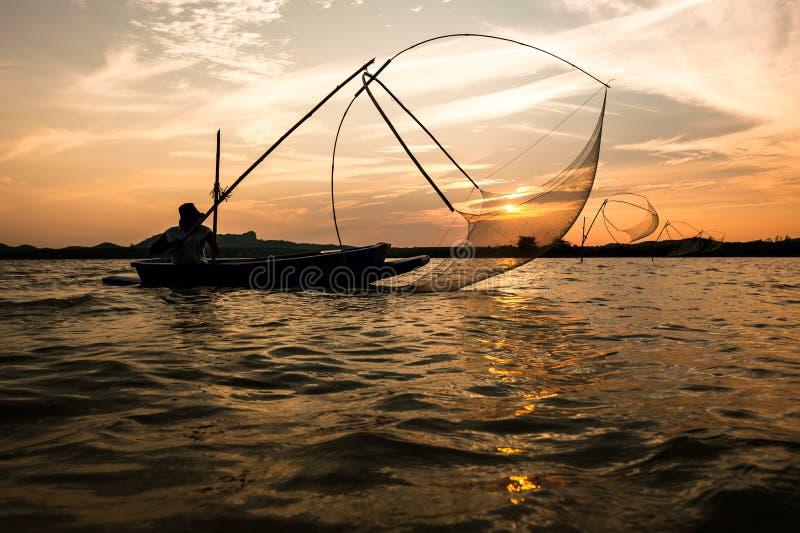 Fiskfälla royaltyfria foton