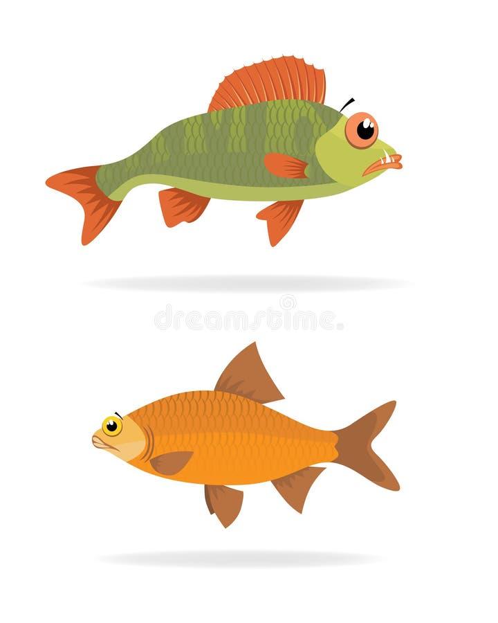 fiskhavsvektor fotografering för bildbyråer