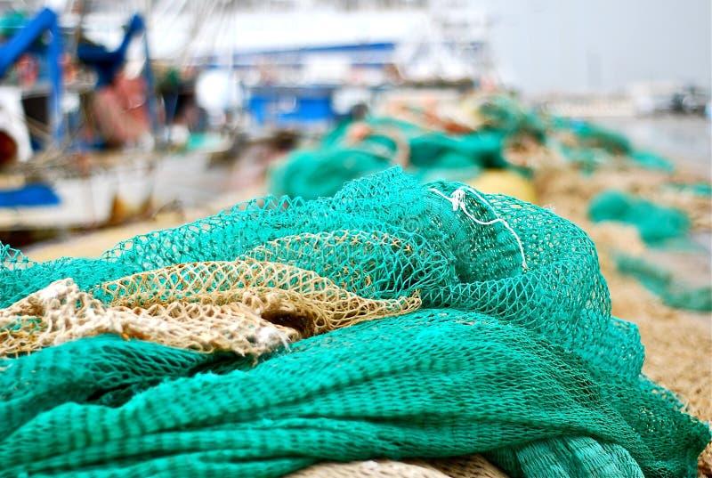 fisknät arkivfoto