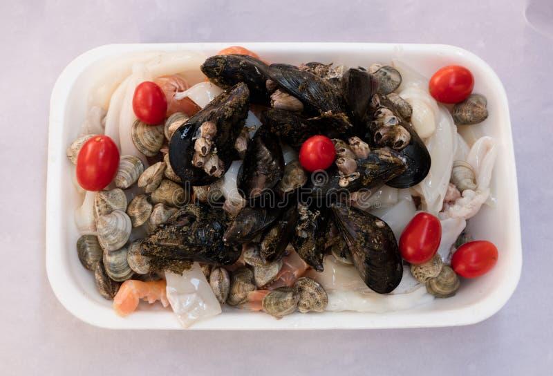 fisksoppaingredienser royaltyfria foton