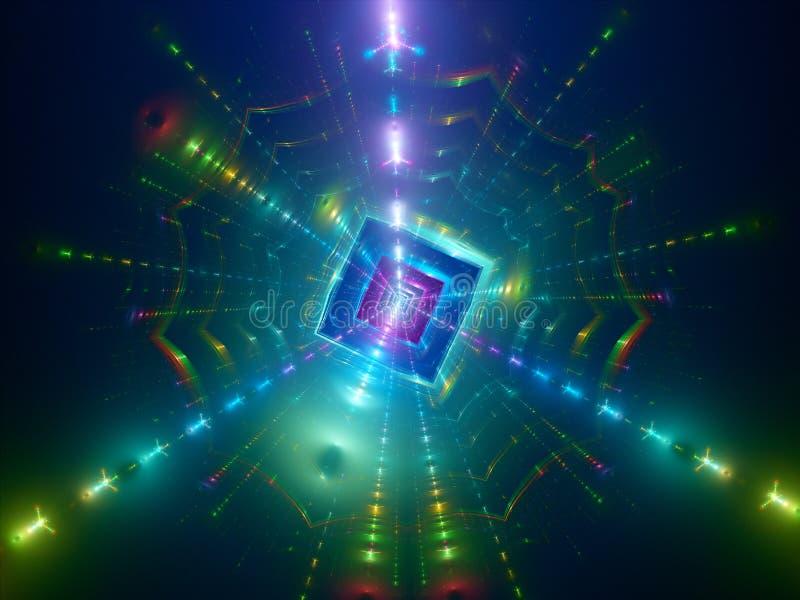 Fission, fond de la science photos libres de droits