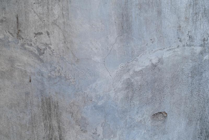 Fissuras e paredes de betão fotografia de stock royalty free