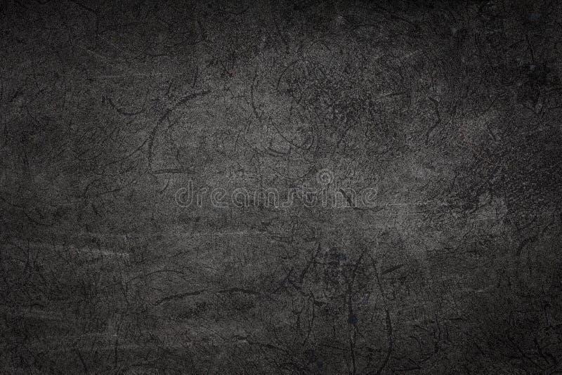 Fissuration noire ou grise de fond abstrait de fond photo stock