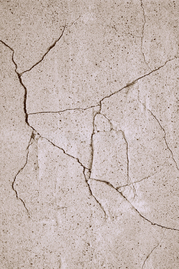 Fissures photographie stock