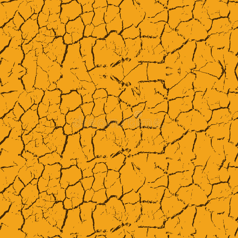 Fissures sans joint illustration de vecteur