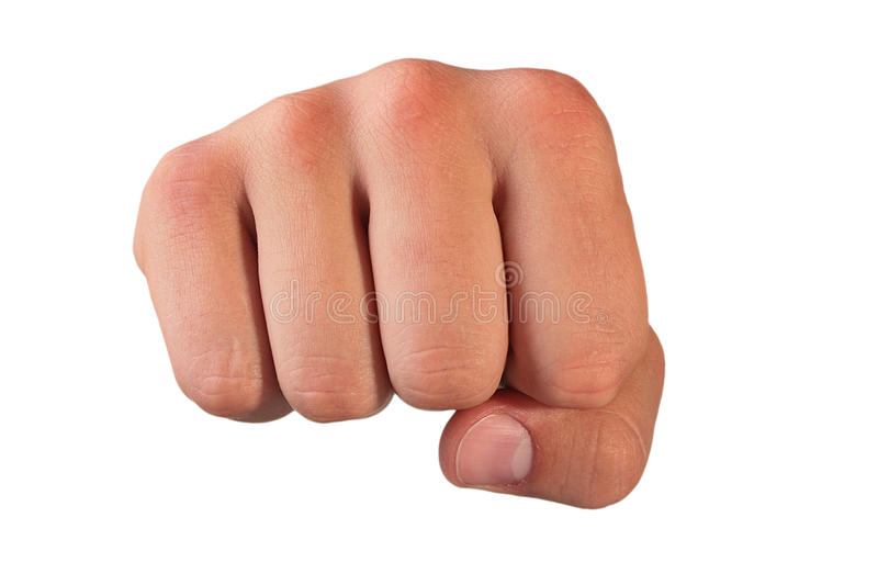 Fist stock photos