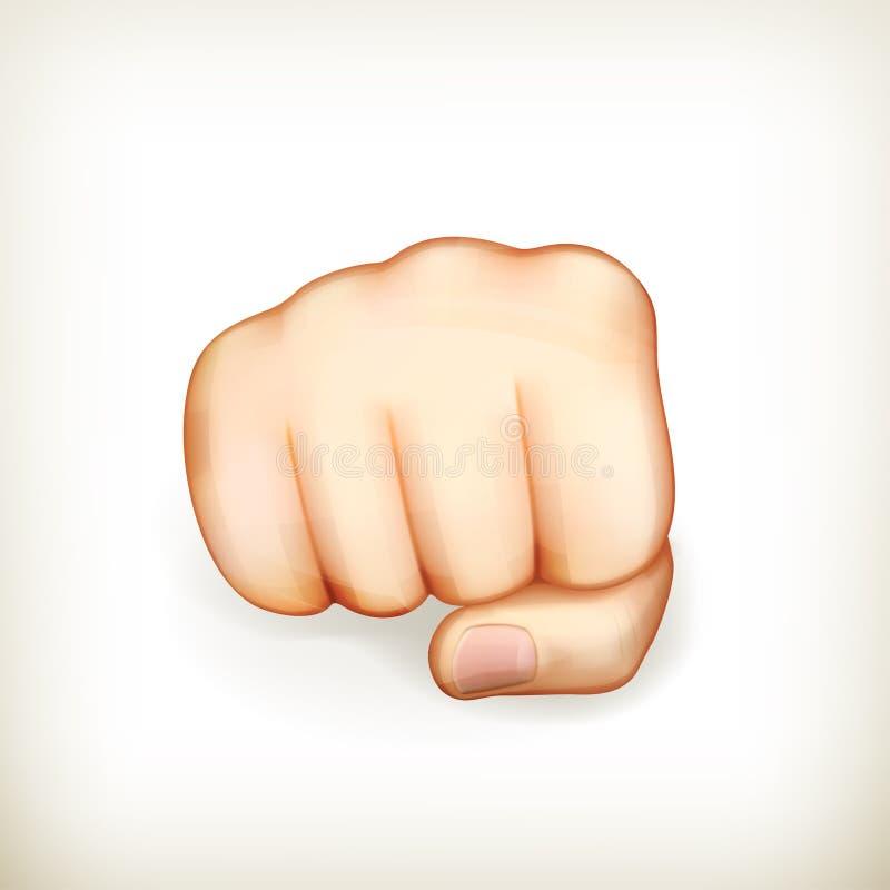 Download Fist stock vector. Illustration of background, symbol - 26416023