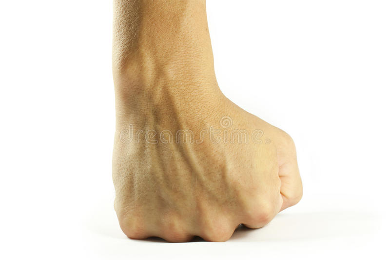 Download Fist stock image. Image of hand, isolated, fist, skin - 26503657