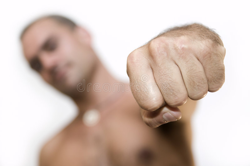 Fist royalty free stock photo