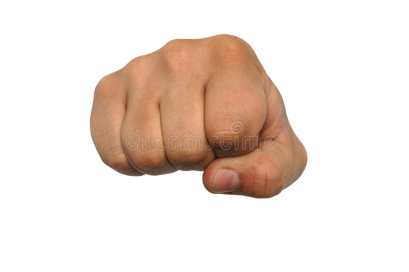 The fist stock image