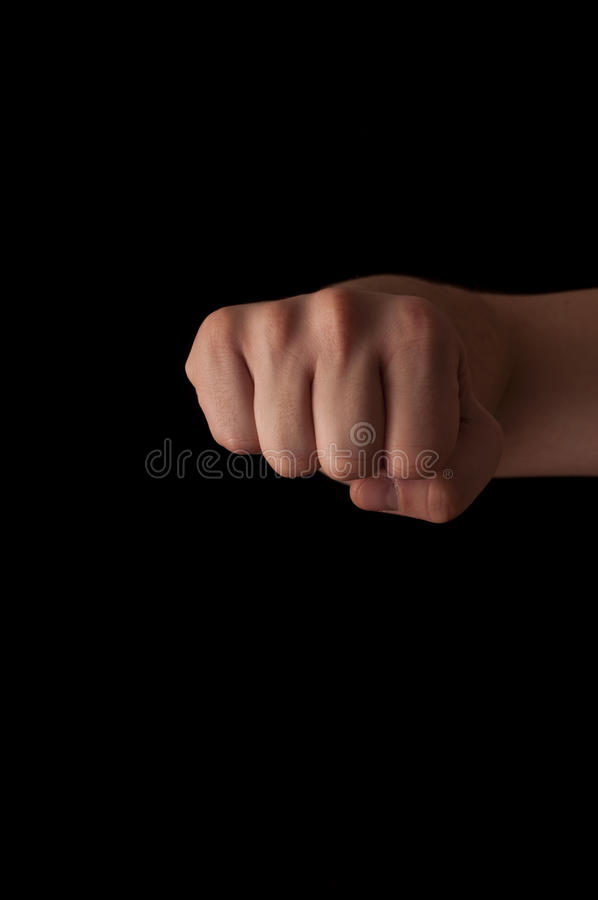 Fist royalty free stock image