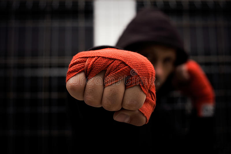 Fist stock image
