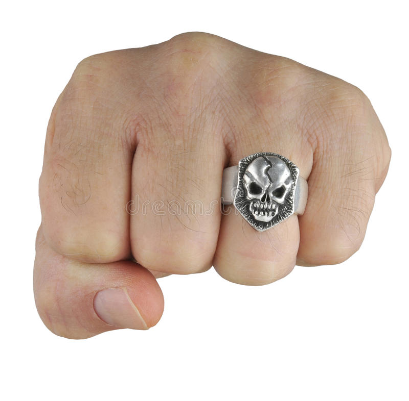 Download Fist With Skull Ring Stock Image - Image: 26625411