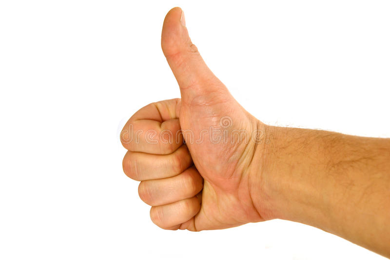 Download Fist with a thumb stock photo. Image of fellow, fingers - 22226182