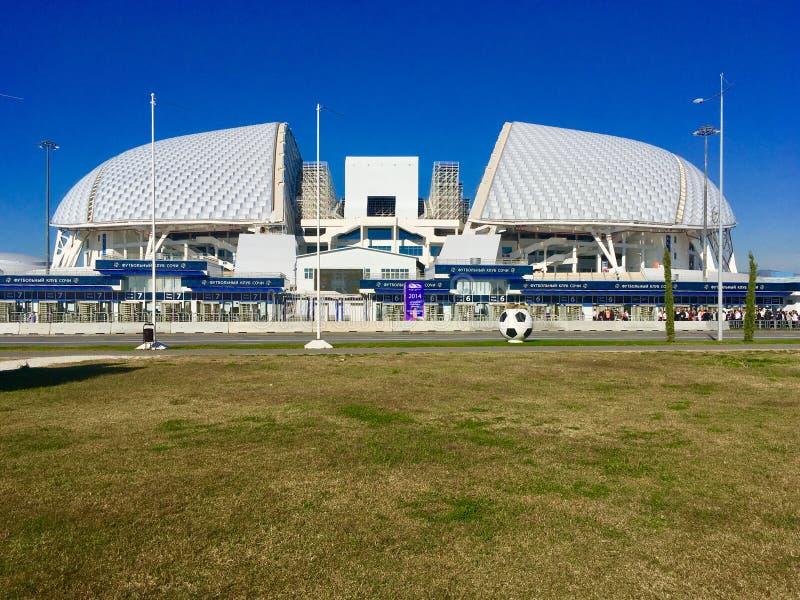 Fisth o Estádio Olímpico, Sochi foto de stock royalty free