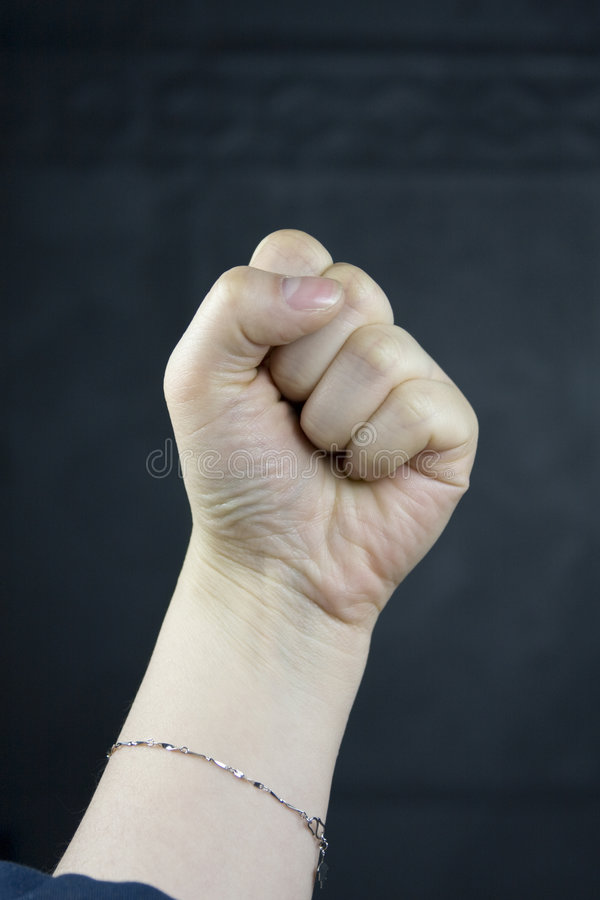 Fists royalty free stock photography