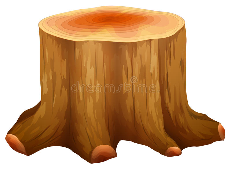 Fiszorek duży drzewo royalty ilustracja