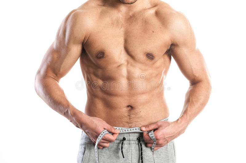 Fit Muscular Male Body Stock Photo Image Of Nutrition 87723180