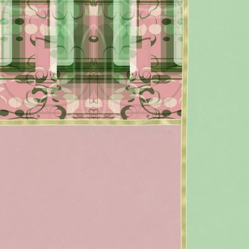 Papel de parede abstrato Pastel ilustração stock