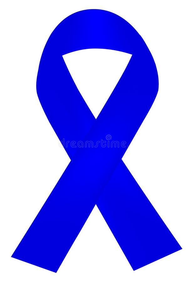 Fita azul Shinning simples ilustração royalty free