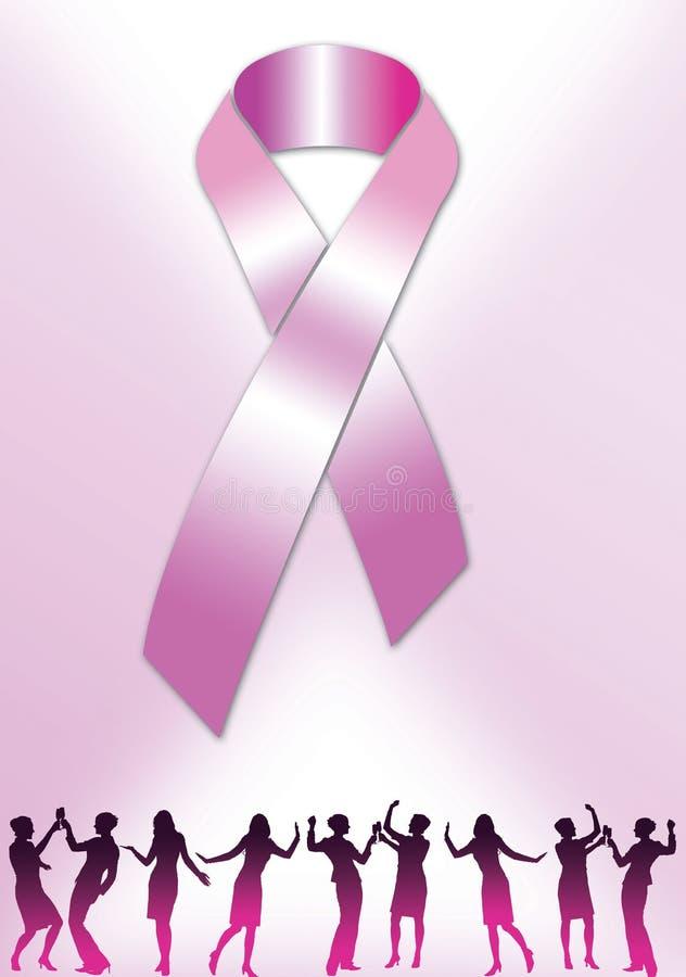 Fita cor-de-rosa 6 ilustração royalty free