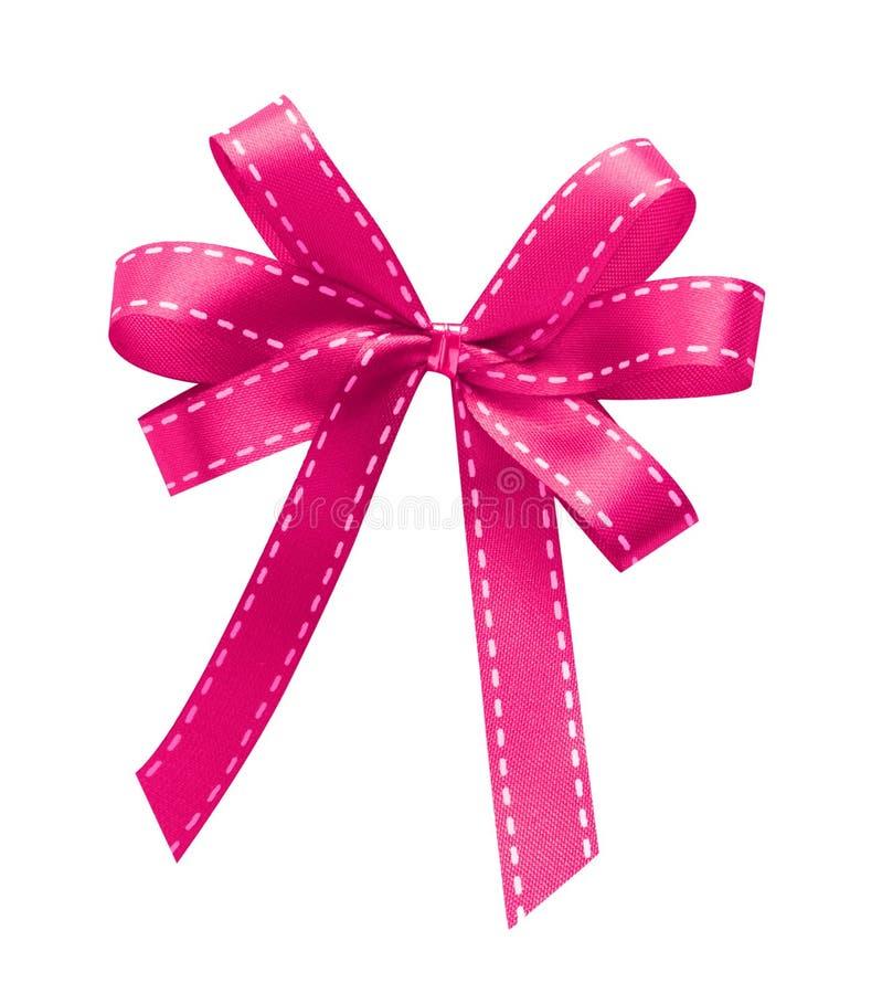 Fita cor-de-rosa isolada fotos de stock royalty free