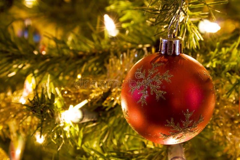Fita da árvore de Natal imagem de stock royalty free