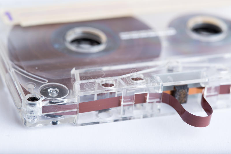 Fita da cassete áudio foto de stock