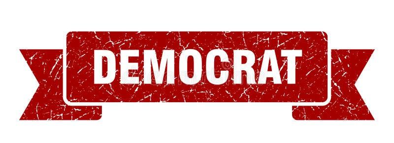 fita da democrata ilustração do vetor