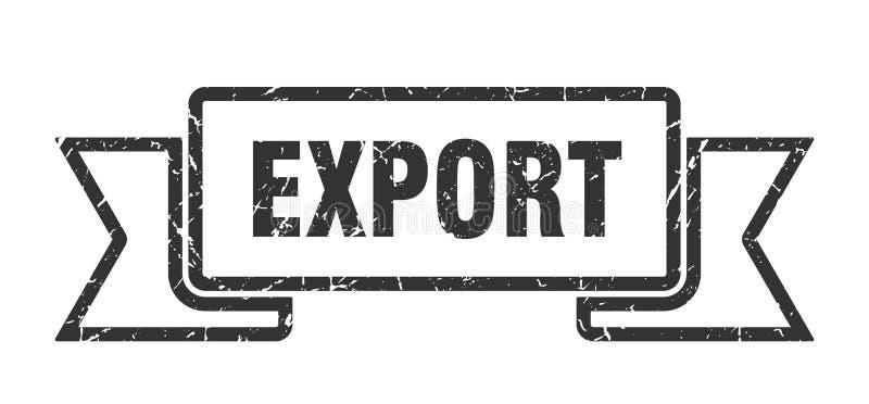 fita da exporta??o ilustração stock
