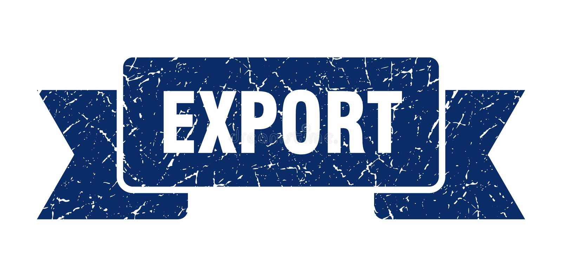 fita da exporta??o ilustração royalty free