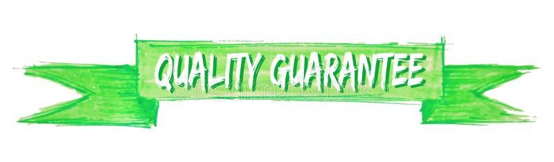 fita da garantia de qualidade ilustração do vetor