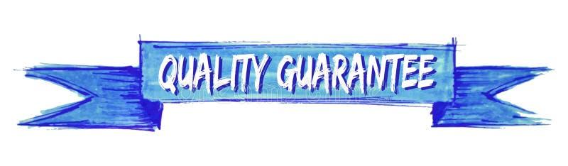 fita da garantia de qualidade ilustração royalty free