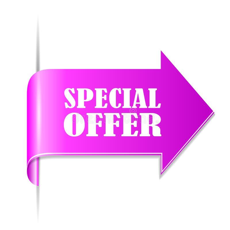 Fita da oferta especial ilustração royalty free