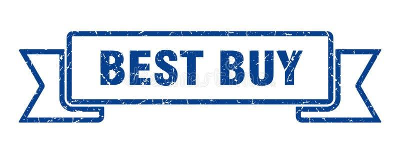 Fita de Best Buy ilustração stock