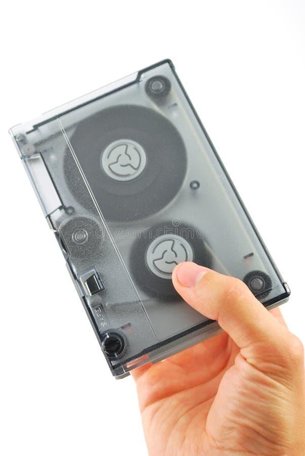 Fita de computador alternativo magnética dada foto de stock