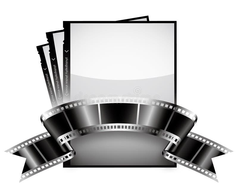 Fita de película ilustração stock