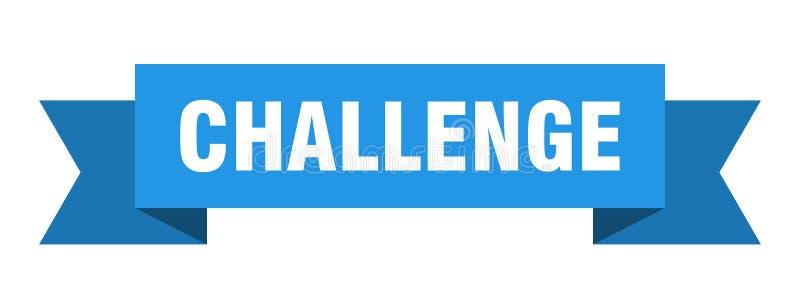 fita do desafio ilustração royalty free