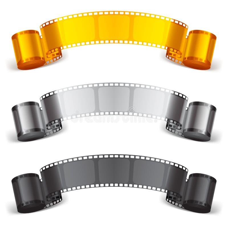 Fita do filme ilustração stock