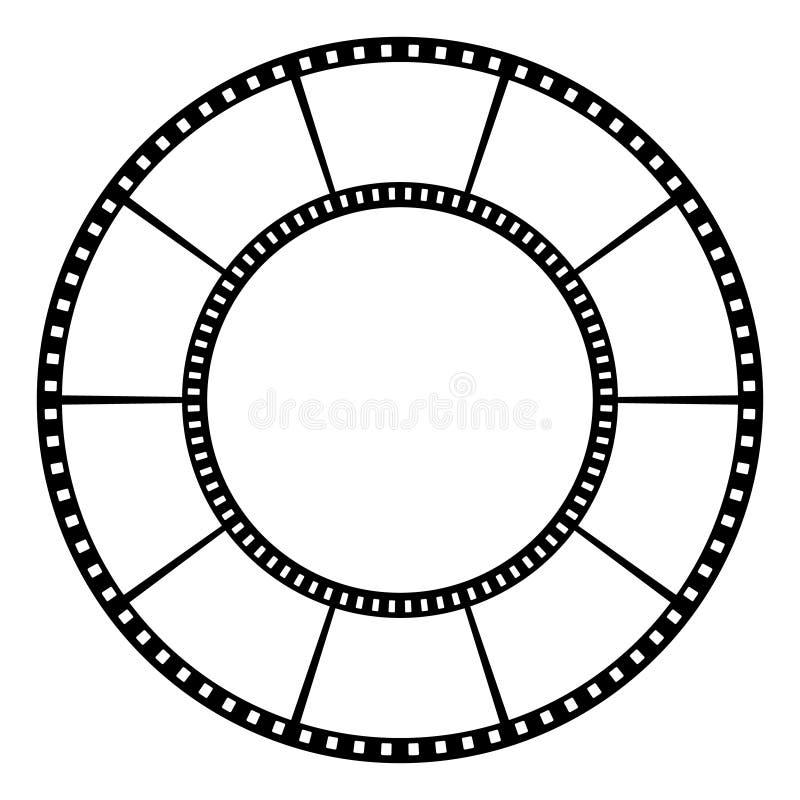 Fita do filme Ilustração do vetor ilustração do vetor