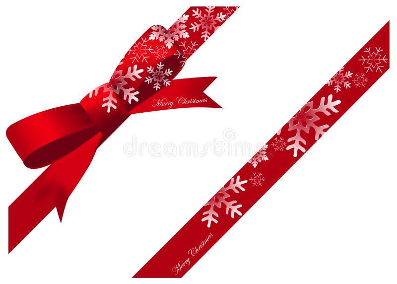 Fita do Natal ilustração do vetor