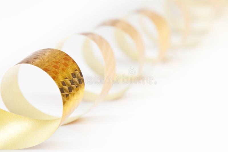 Download Fita do ouro foto de stock. Imagem de tape, ouro, quadro - 16866824