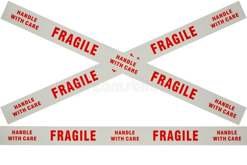 Fita frágil ilustração stock