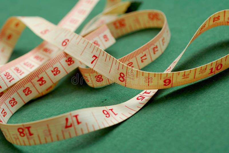 Fita métrica imagens de stock