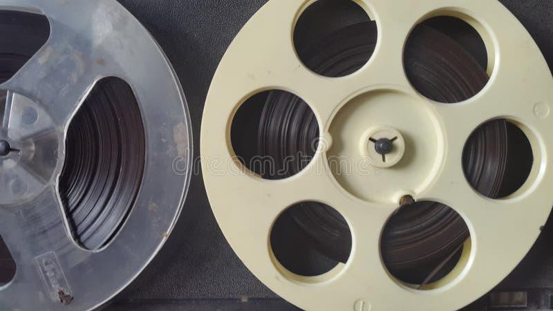 fita magnética Registrador de fita velho fotos de stock