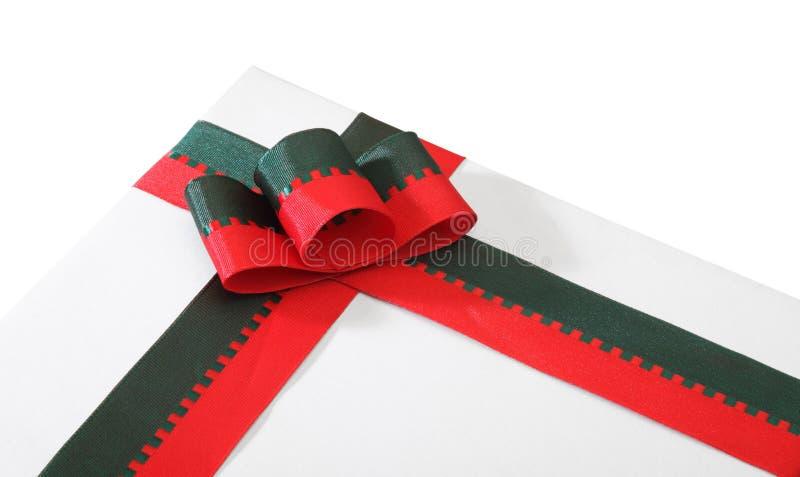 Download Fita na caixa imagem de stock. Imagem de christmas, presente - 12801305