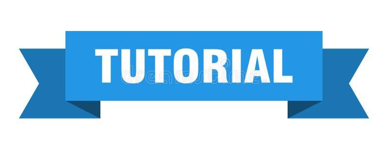 fita tutorial ilustração do vetor